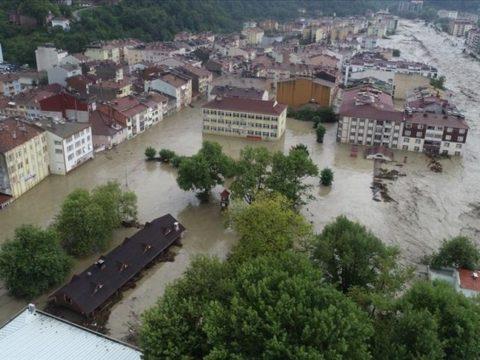 Turecko, Záplavy v turecké černomořské oblasti